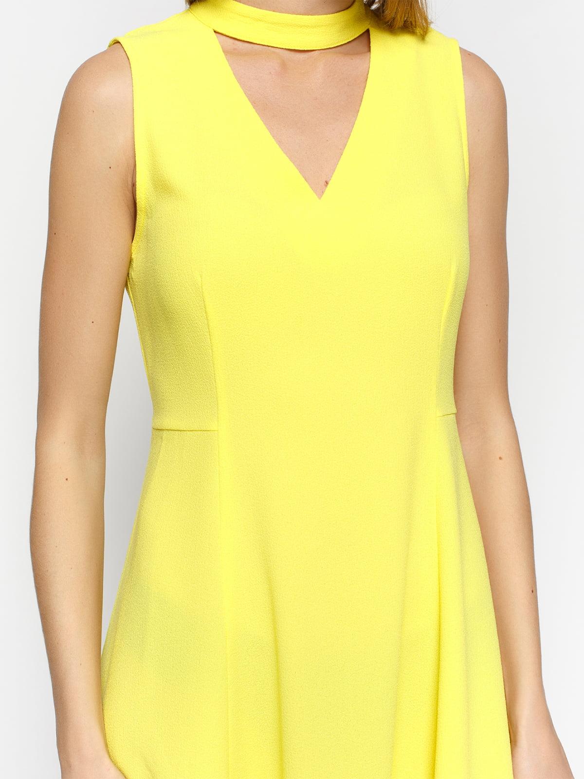 Платье желтое | 4871039 | фото 3