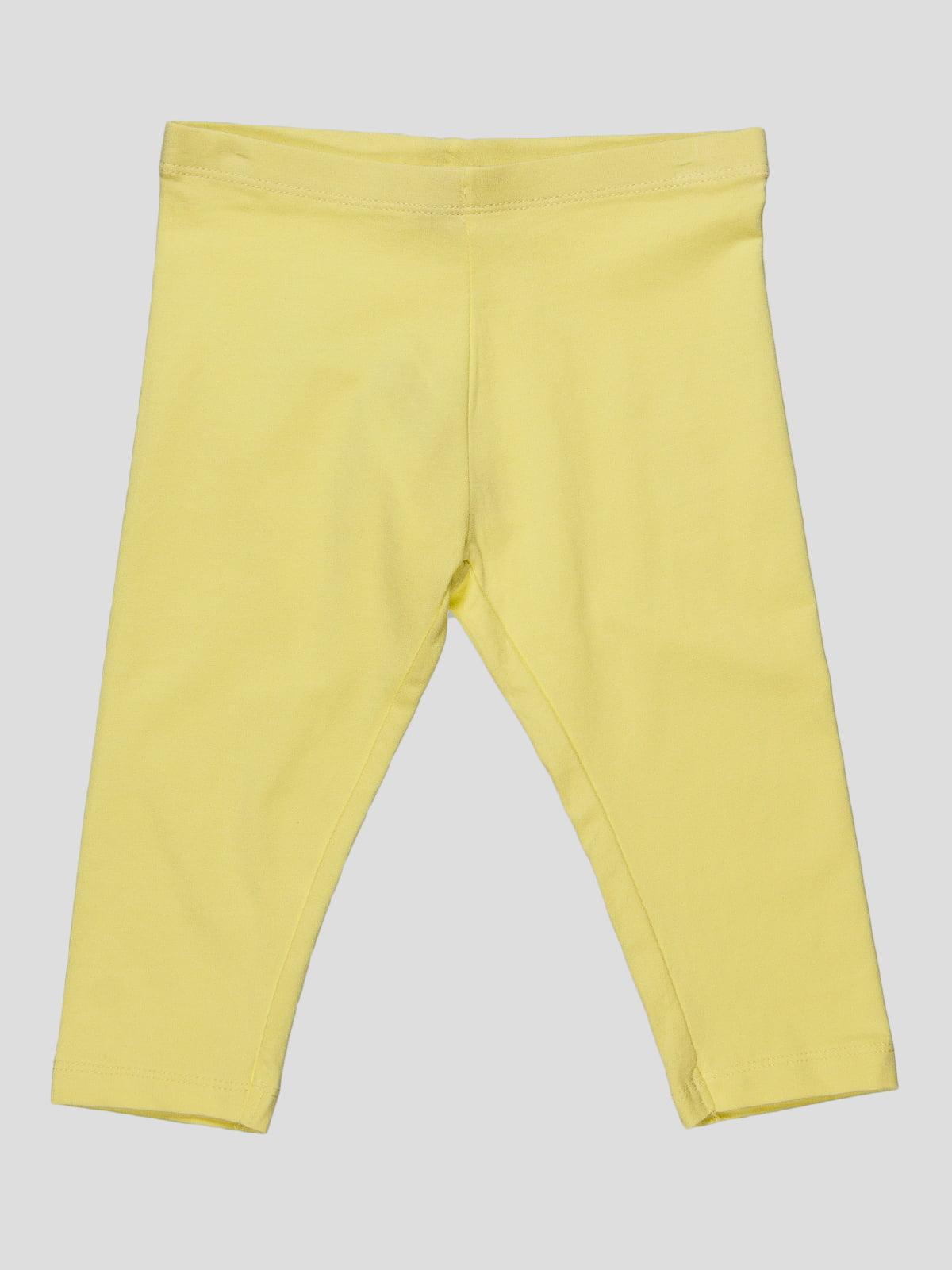 Леггинсы желтые | 2041695