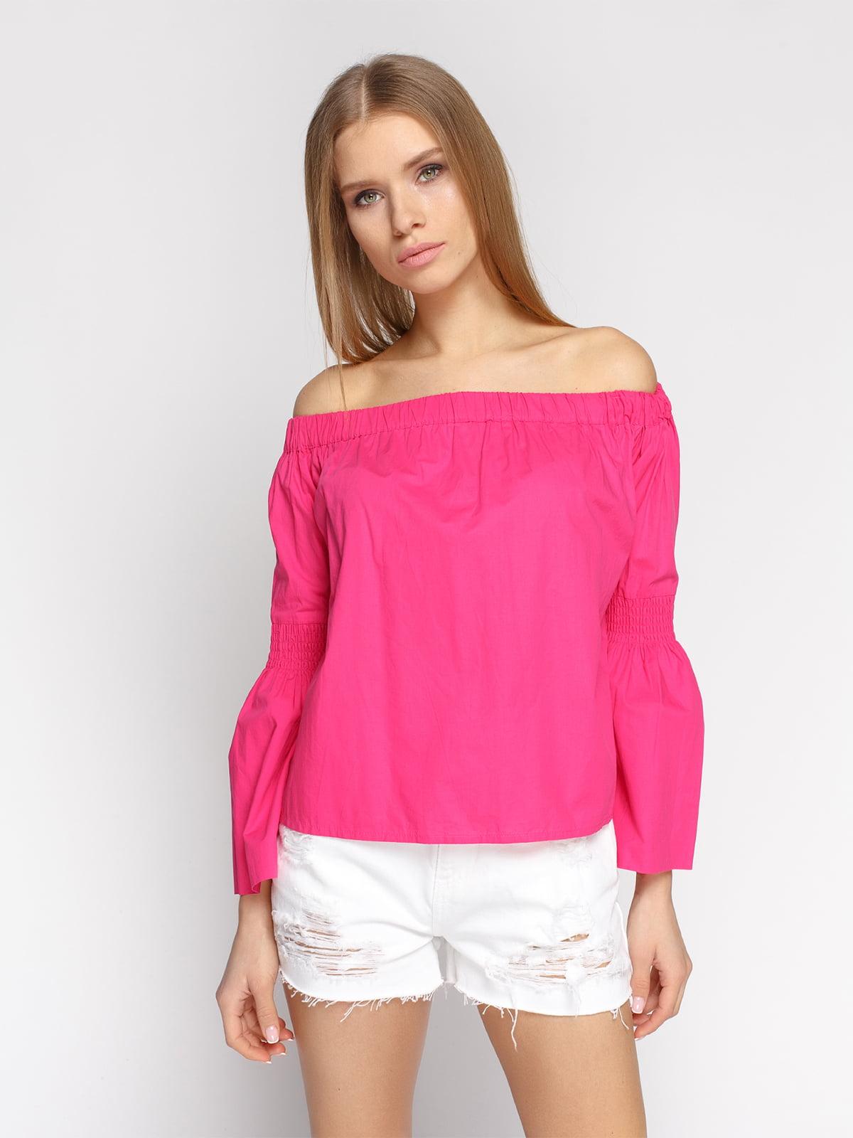 Блуза малинова | 4871517