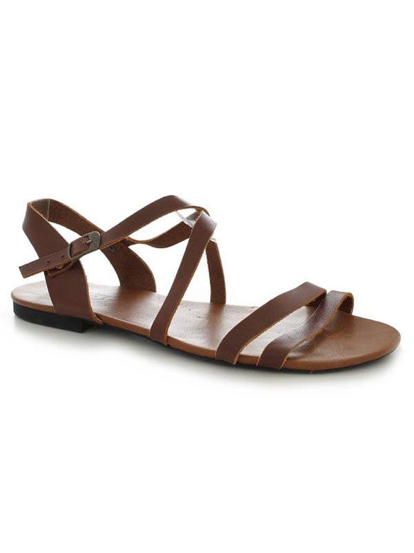 Сандалии коричневые   4861237
