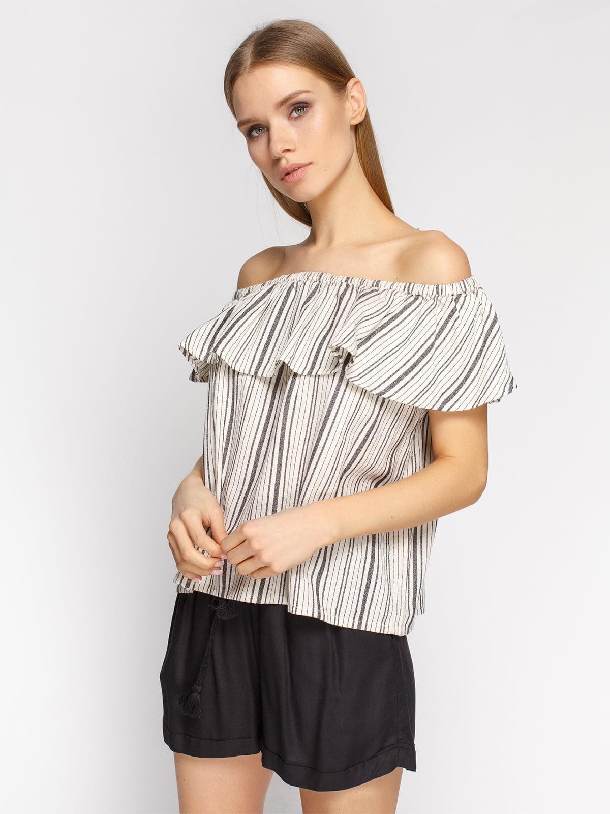 Блуза в полоску   4871307