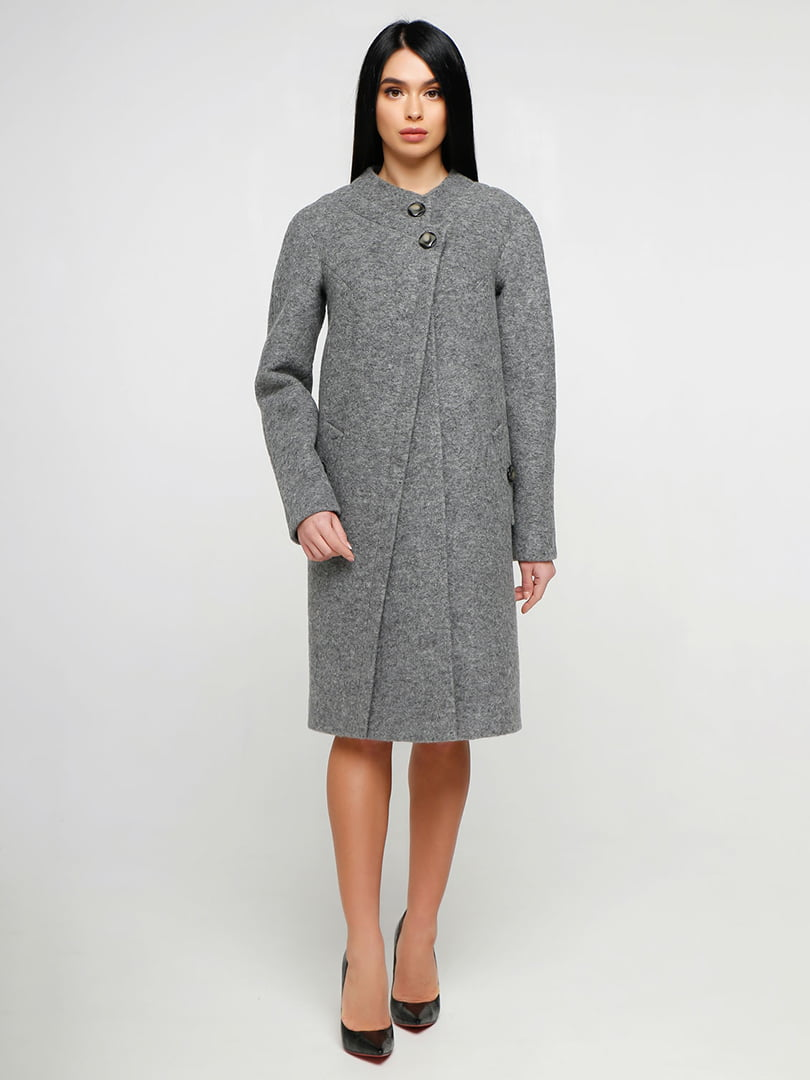 Пальто серое | 4886123