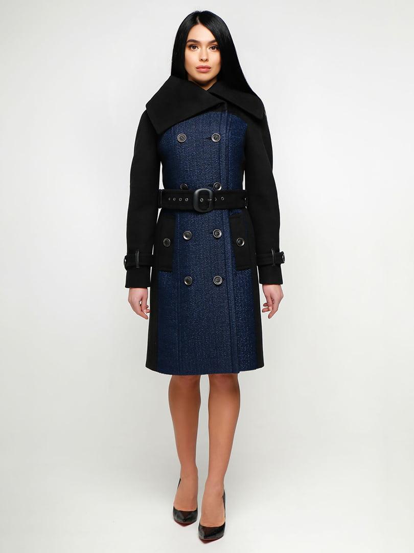 Пальто двухцветное   4886126
