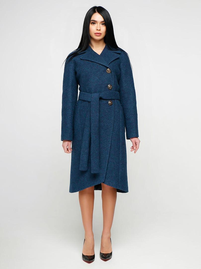Пальто синее | 4886127