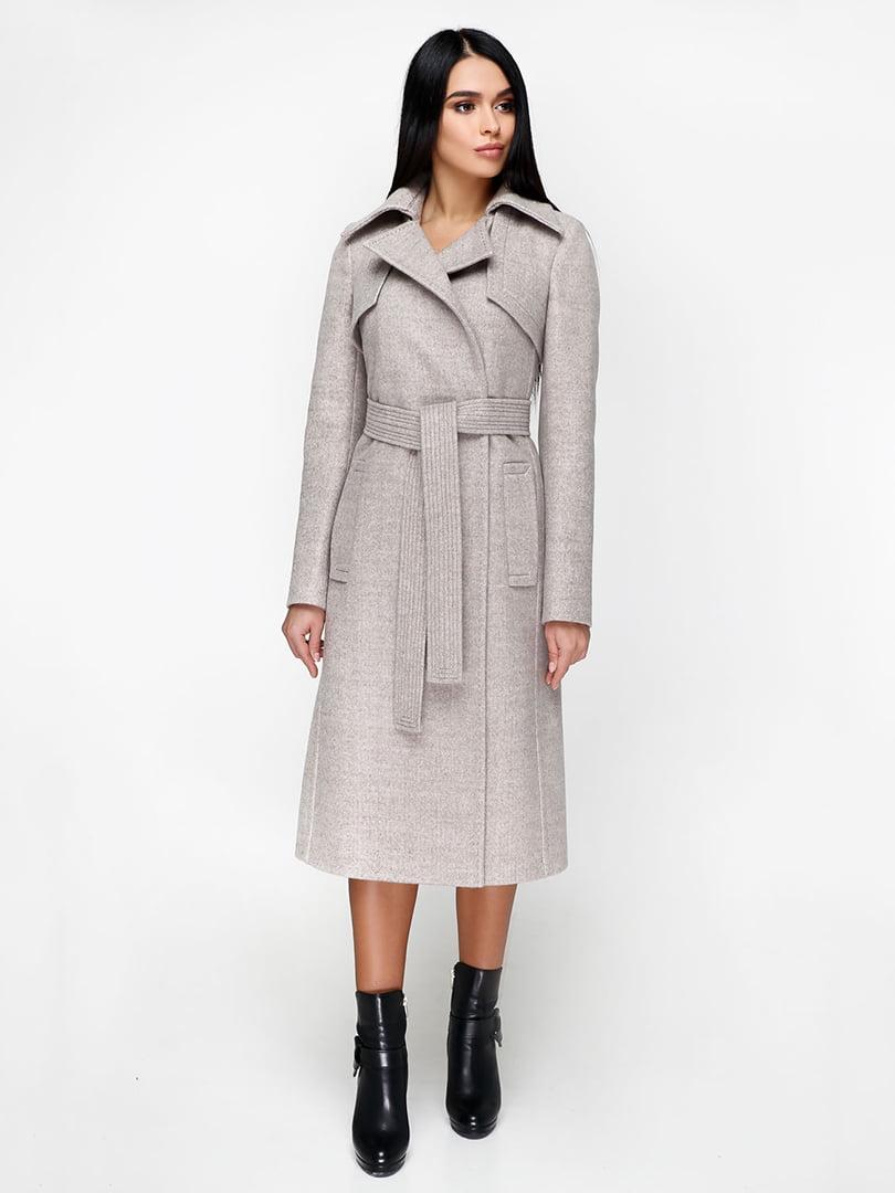 Пальто бежевое | 4886130