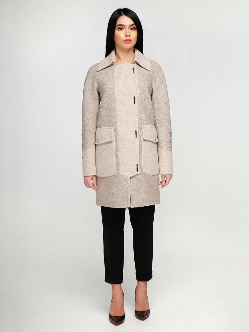 Пальто бежевое | 4886131