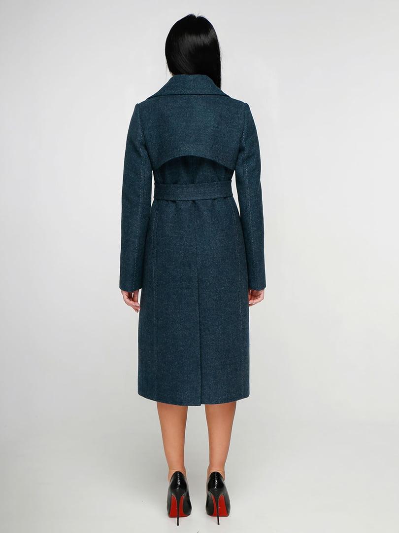 Пальто изумрудного цвета | 4886136 | фото 2