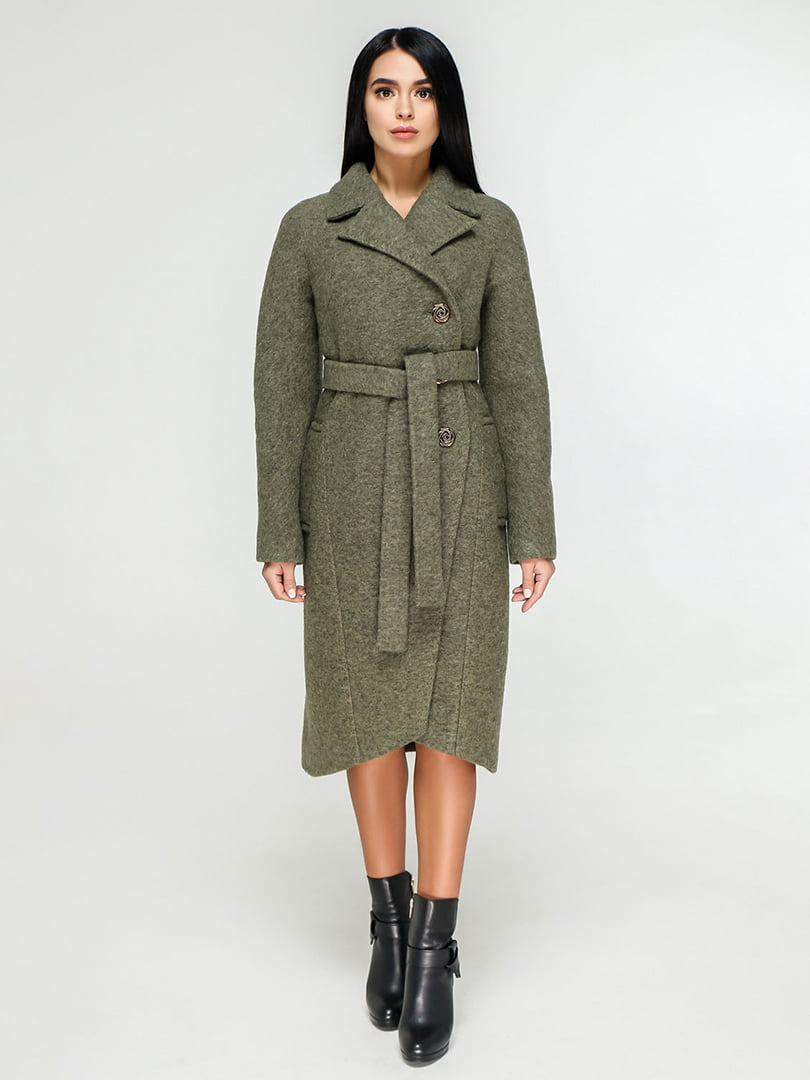 Пальто цвета хаки | 4886141