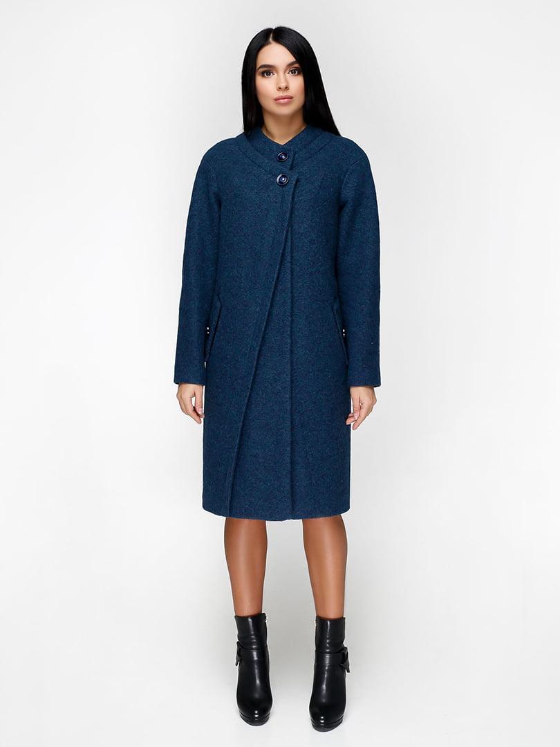 Пальто синє   4886142