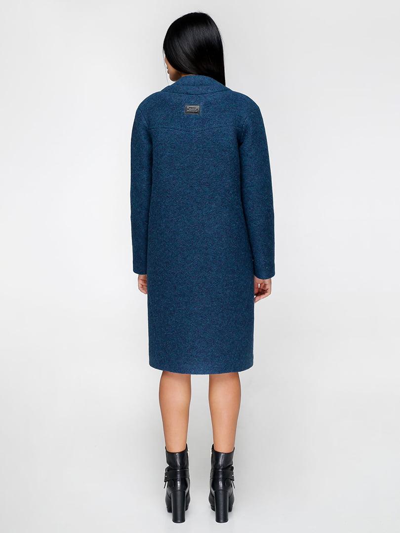 Пальто синее | 4886142 | фото 2