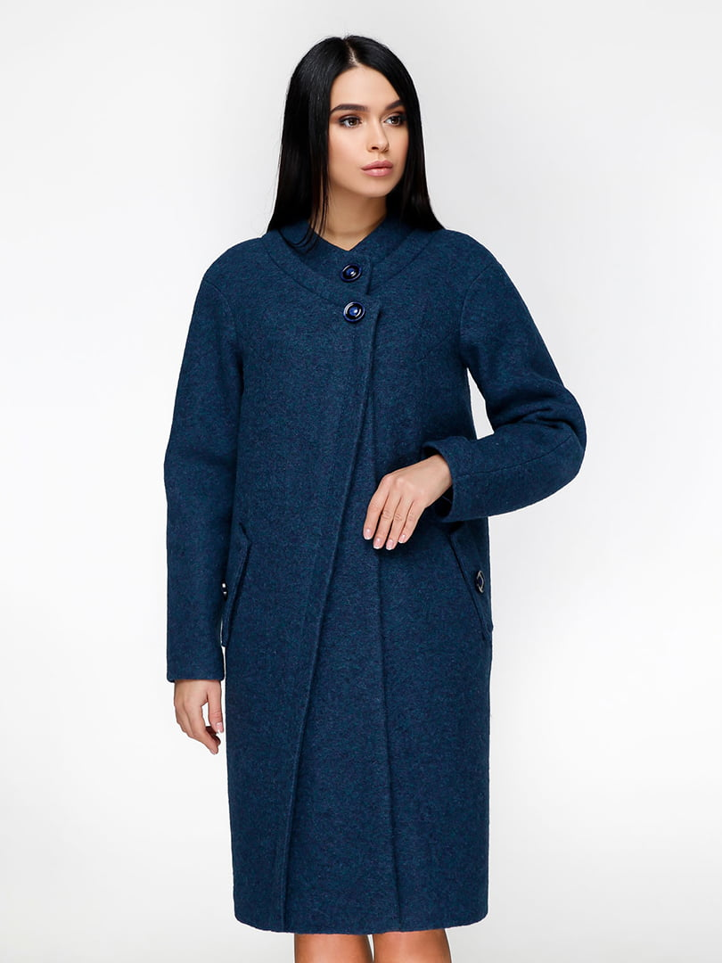 Пальто синее | 4886142 | фото 3