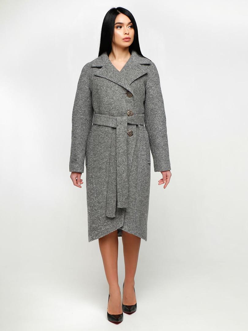 Пальто сіре | 4886143