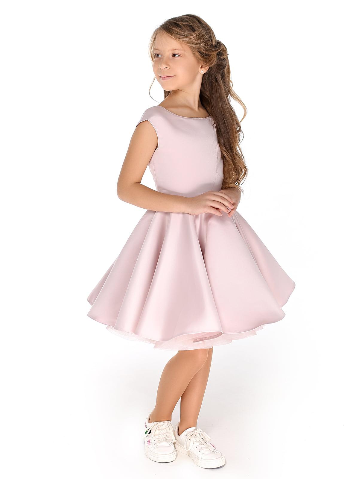 Платье цвета пудры | 4886268