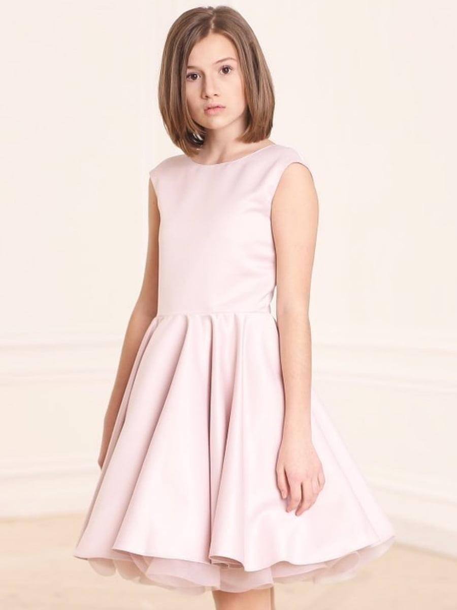 Платье цвета пудры | 4886268 | фото 2
