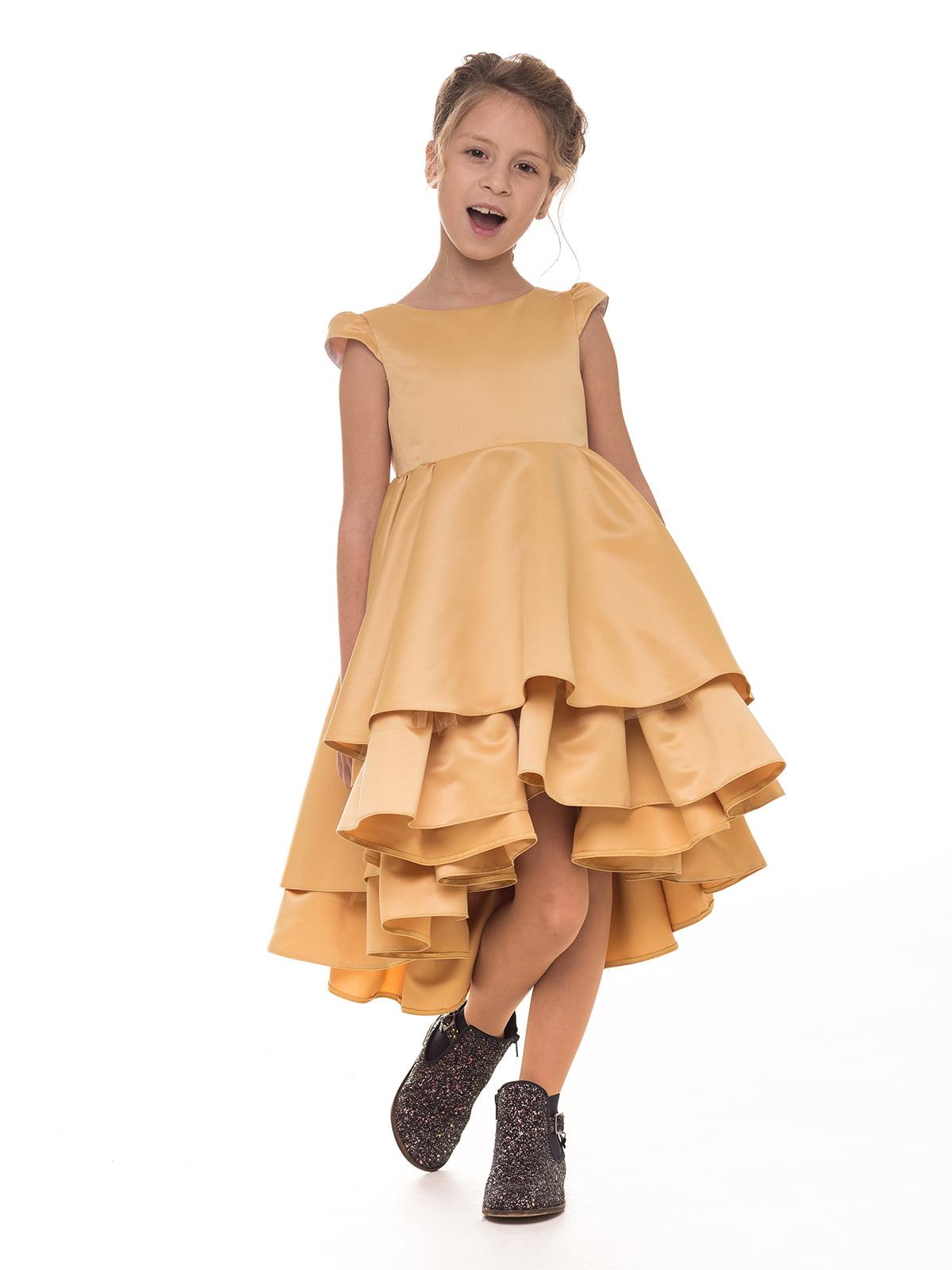 Платье золотистое   4886271   фото 3
