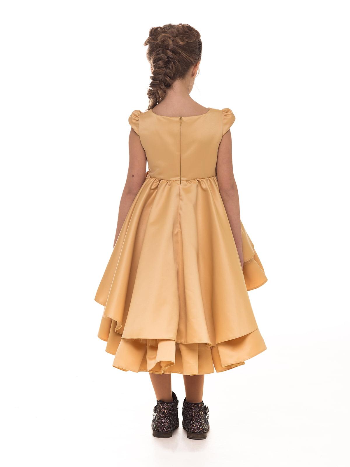 Платье золотистое   4886271   фото 4