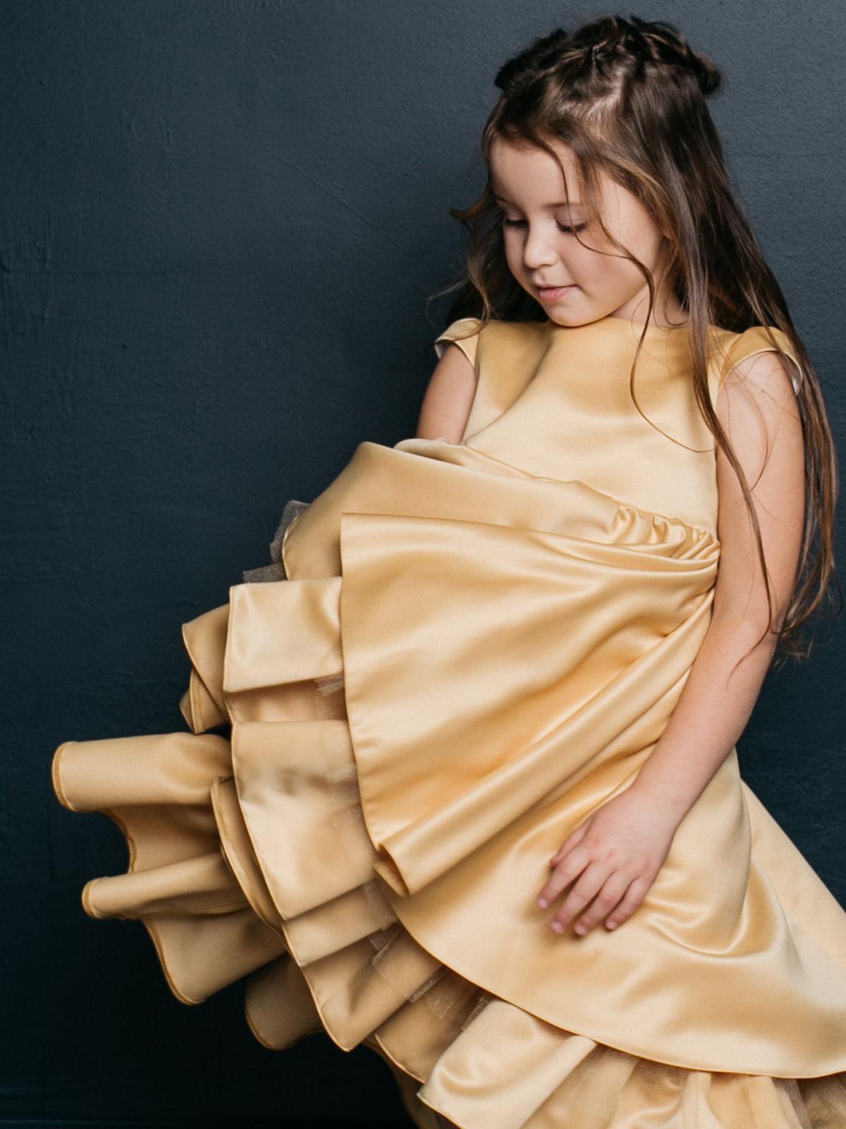 Платье золотистое   4886271   фото 2