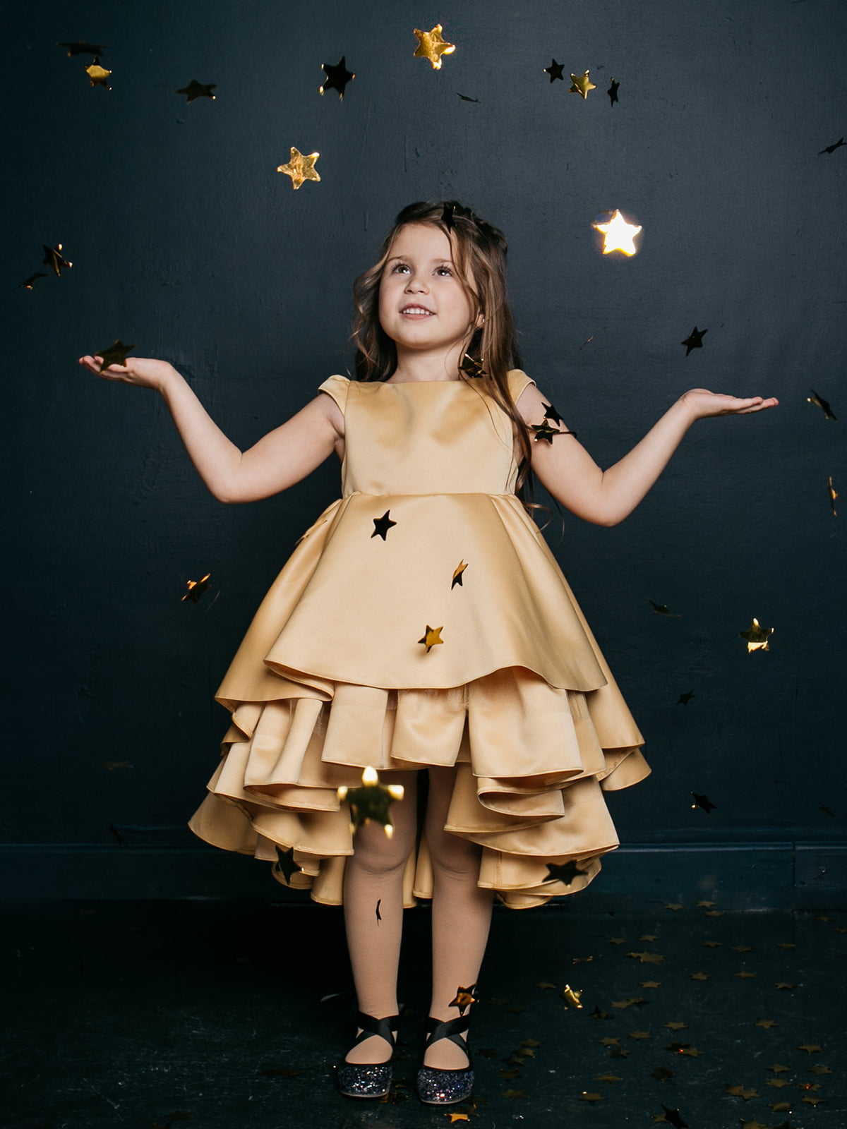 Платье золотистое   4886271