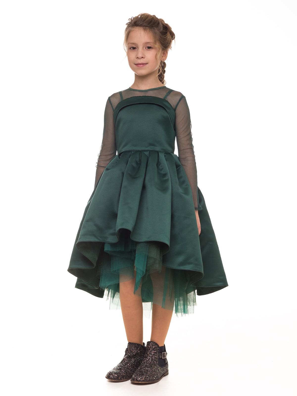 Платье изумрудного цвета   4886278