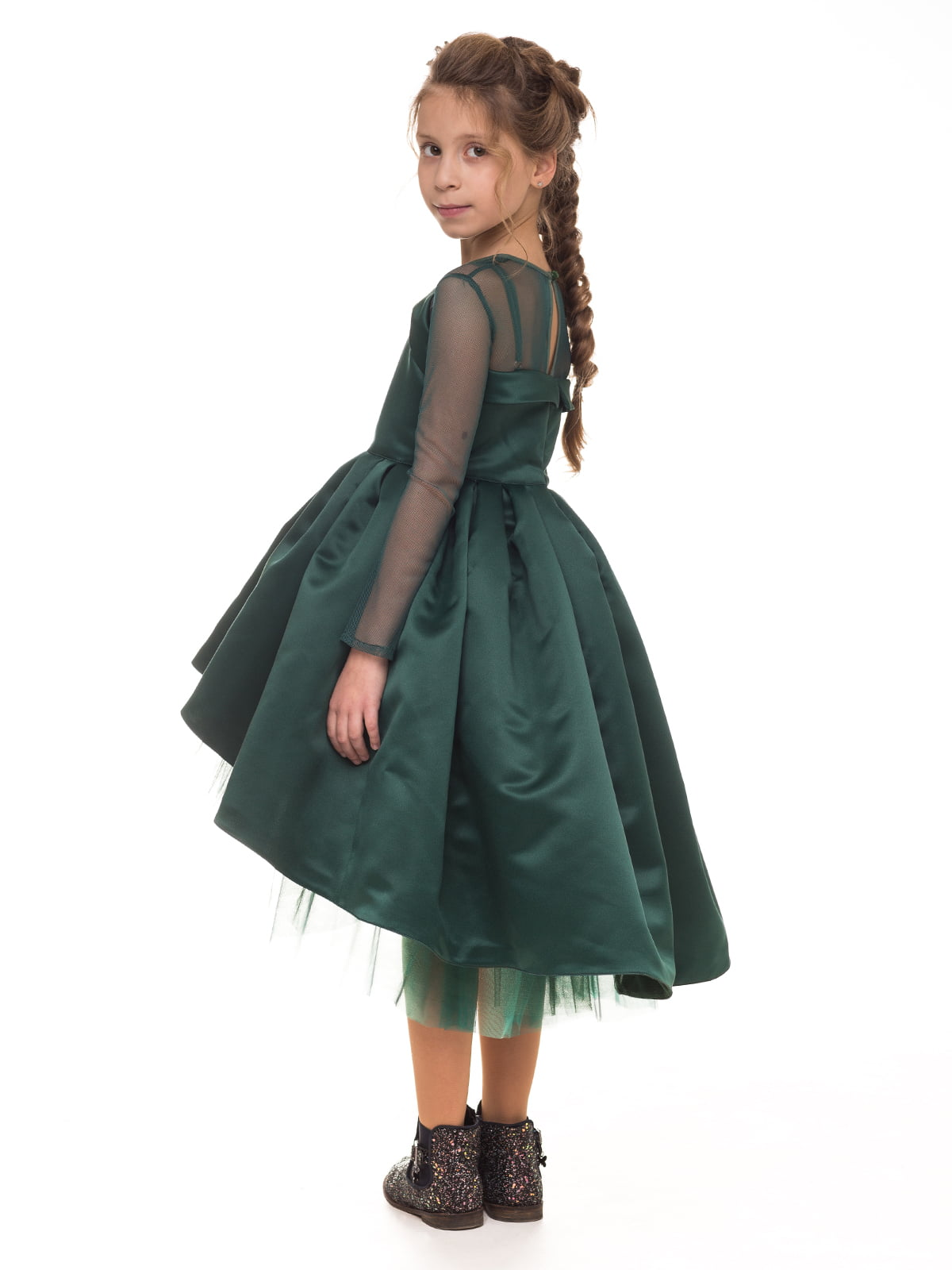 Платье изумрудного цвета   4886278   фото 2