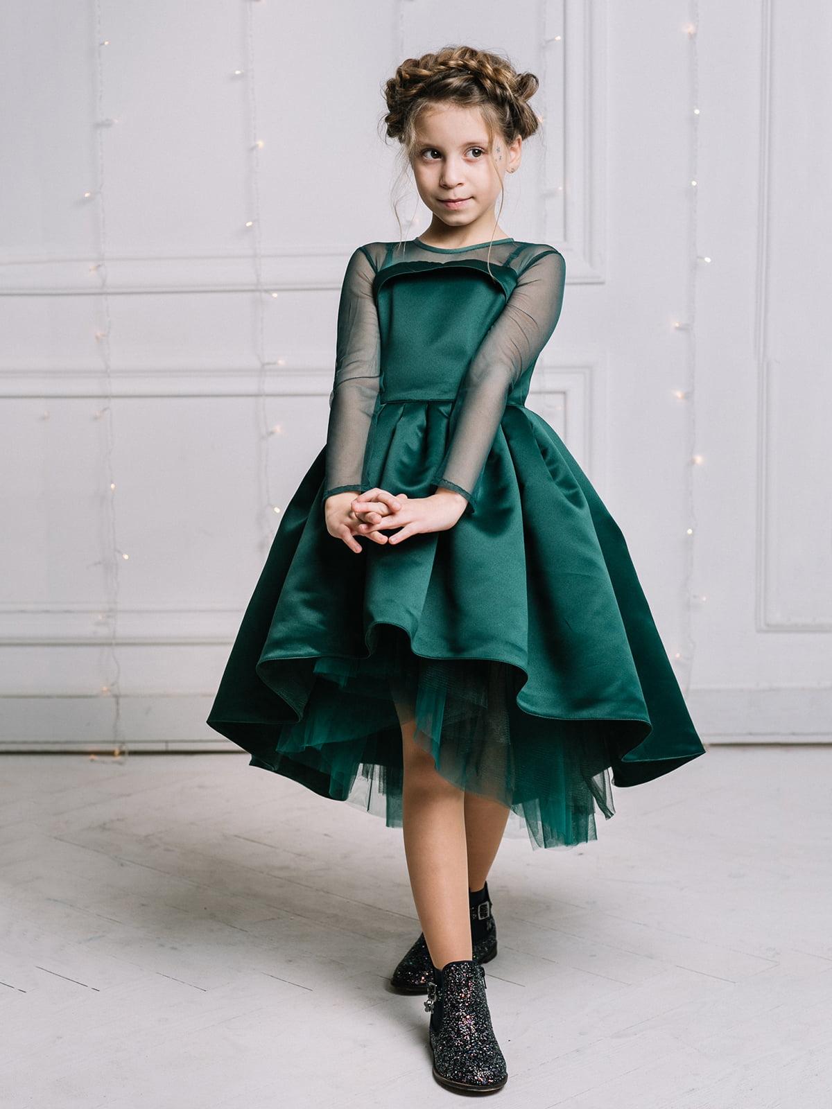 Платье изумрудного цвета   4886278   фото 3