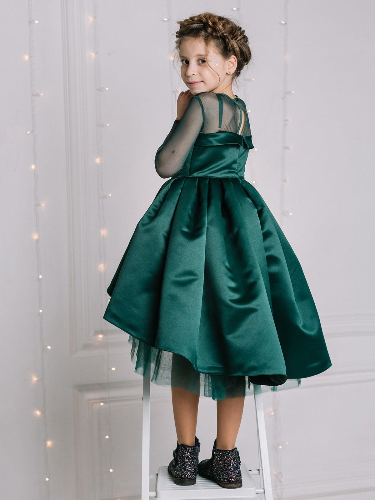 Платье изумрудного цвета   4886278   фото 4