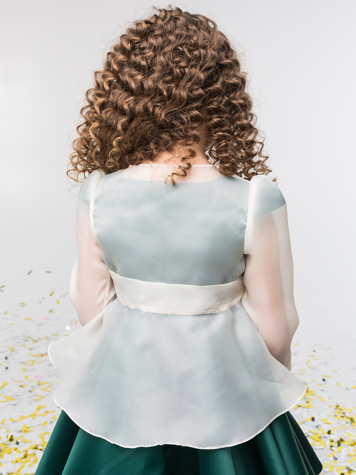 Жакет молочного цвета | 4886280 | фото 2
