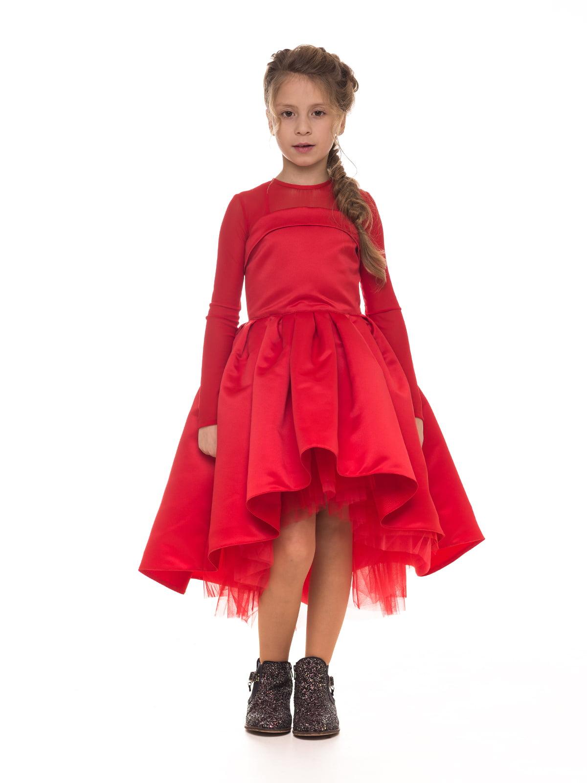 Платье красное | 4886281