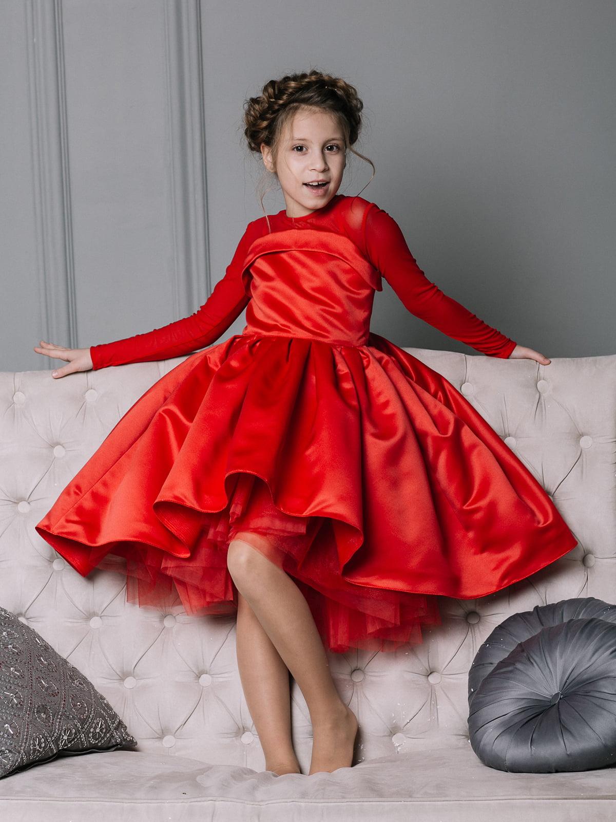 Платье красное | 4886281 | фото 4