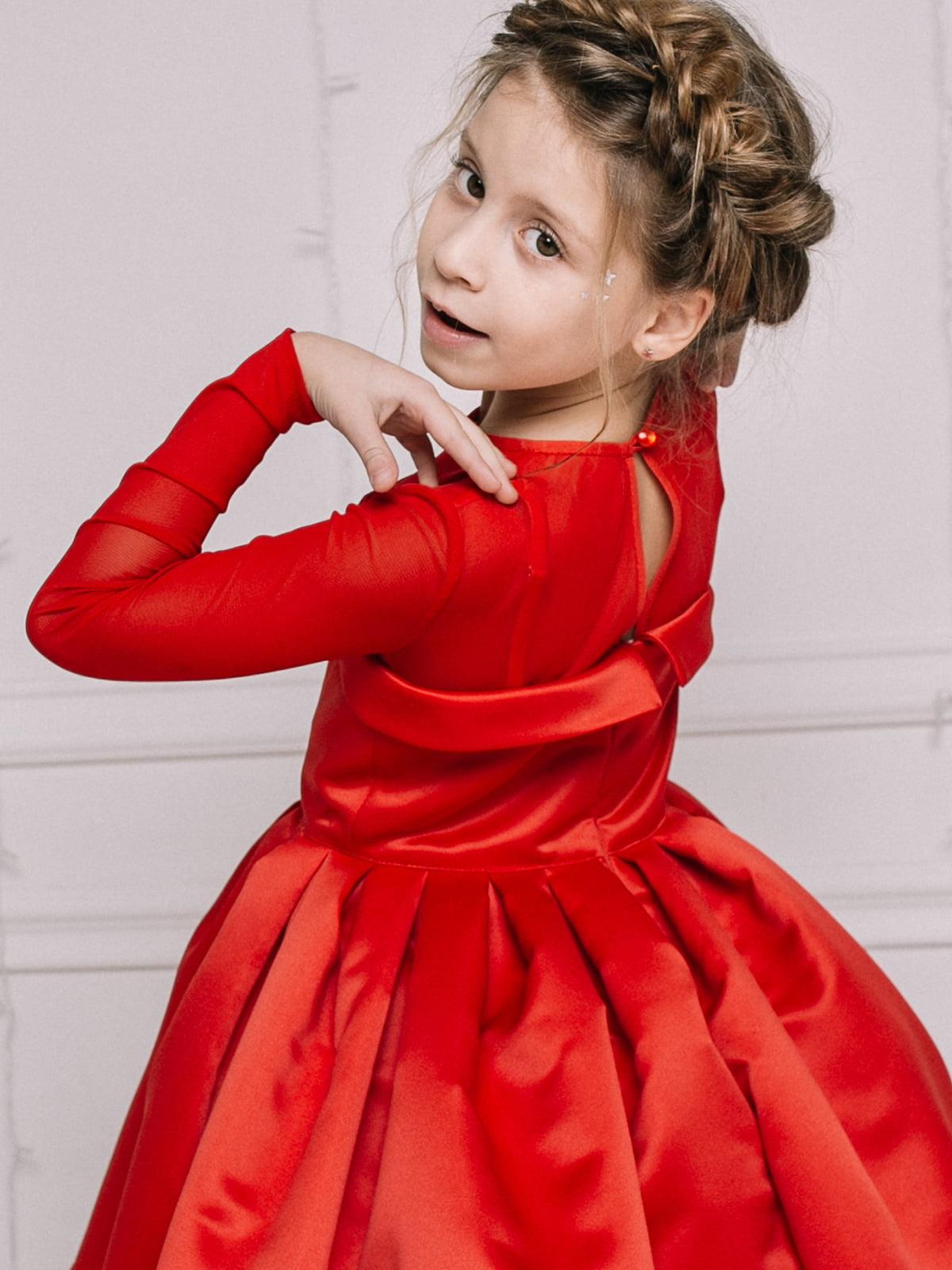 Платье красное | 4886281 | фото 5