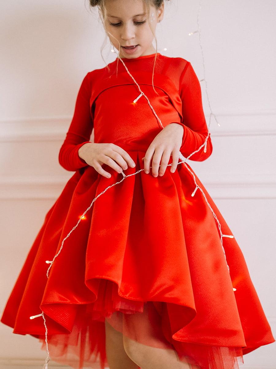Платье красное | 4886281 | фото 6
