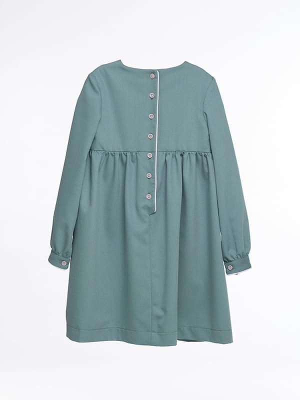 Платье бирюзовое | 4886283 | фото 4