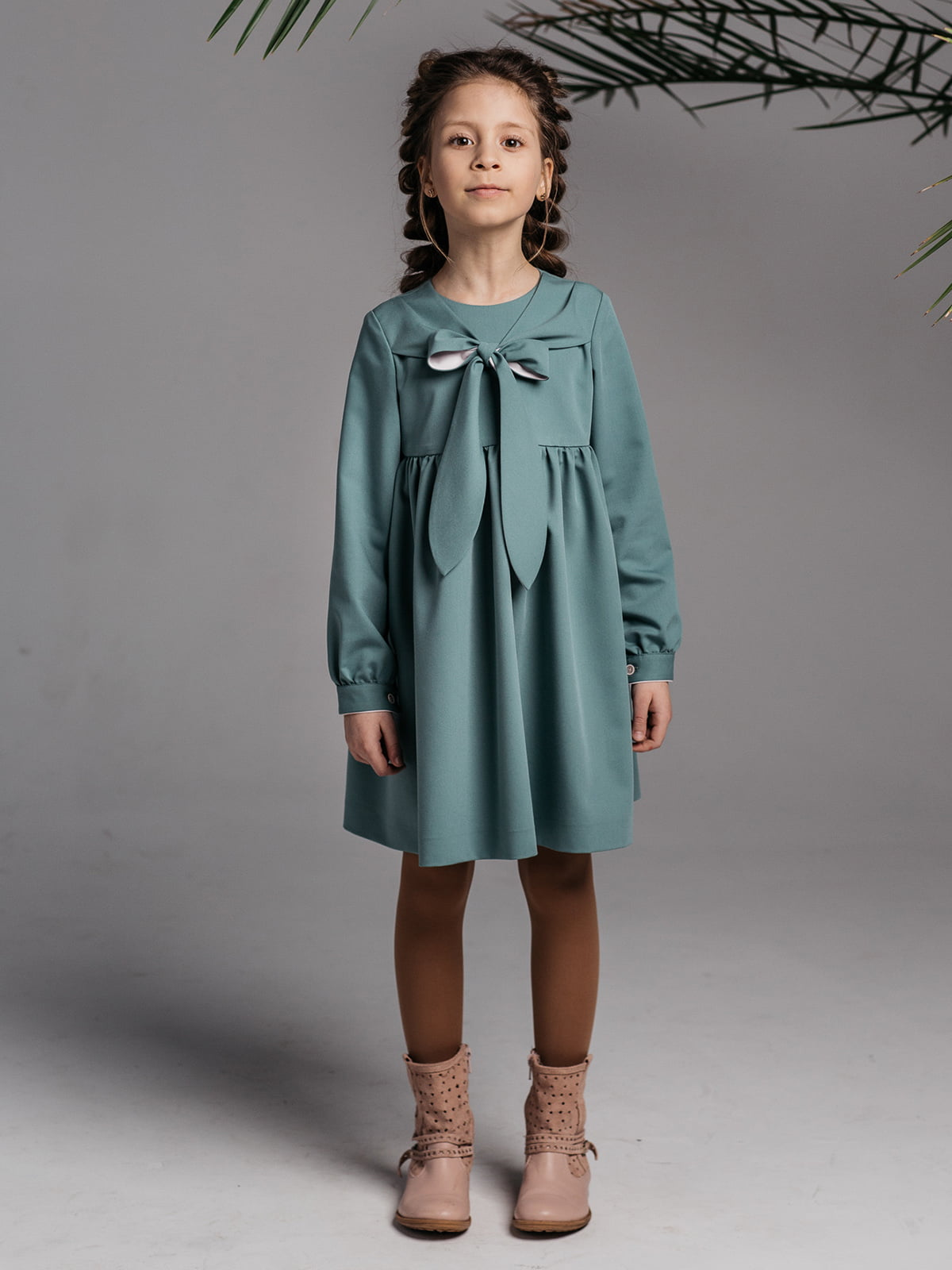 Платье бирюзовое | 4886283