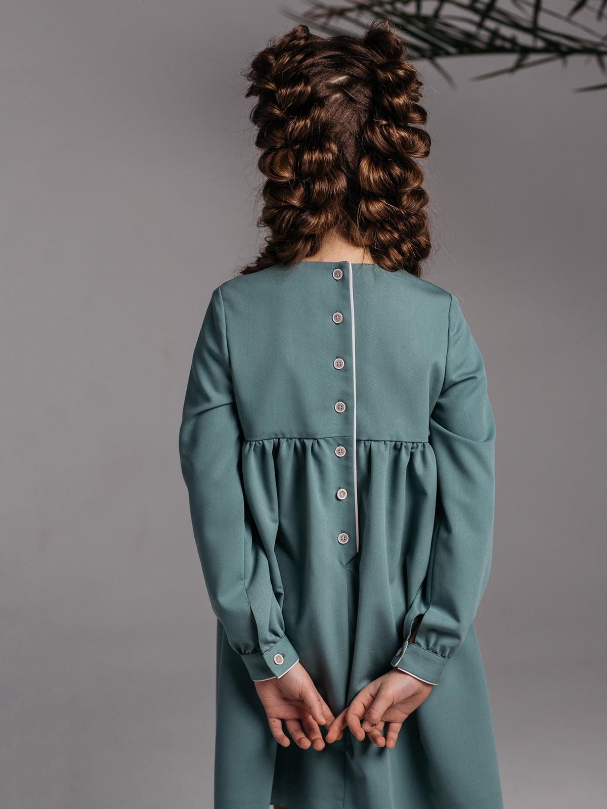 Платье бирюзовое | 4886283 | фото 3