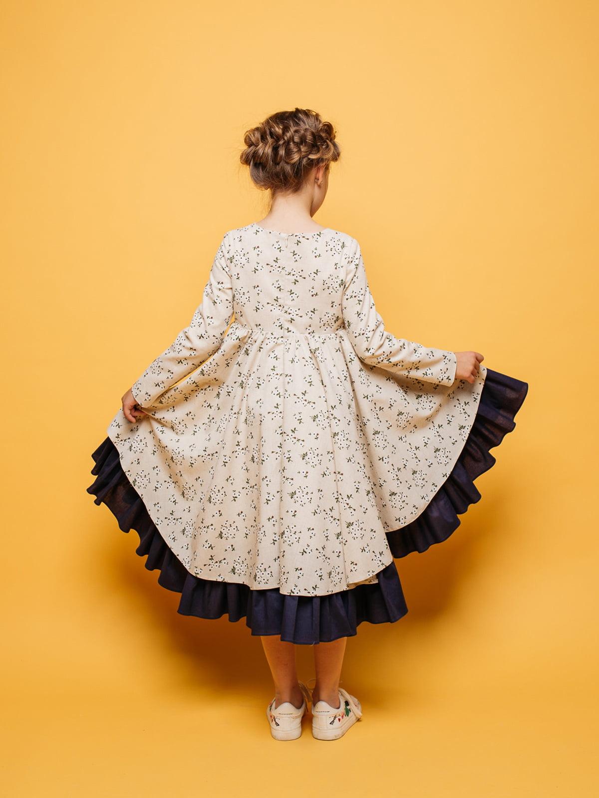Платье в цветочный принт | 4886286 | фото 2