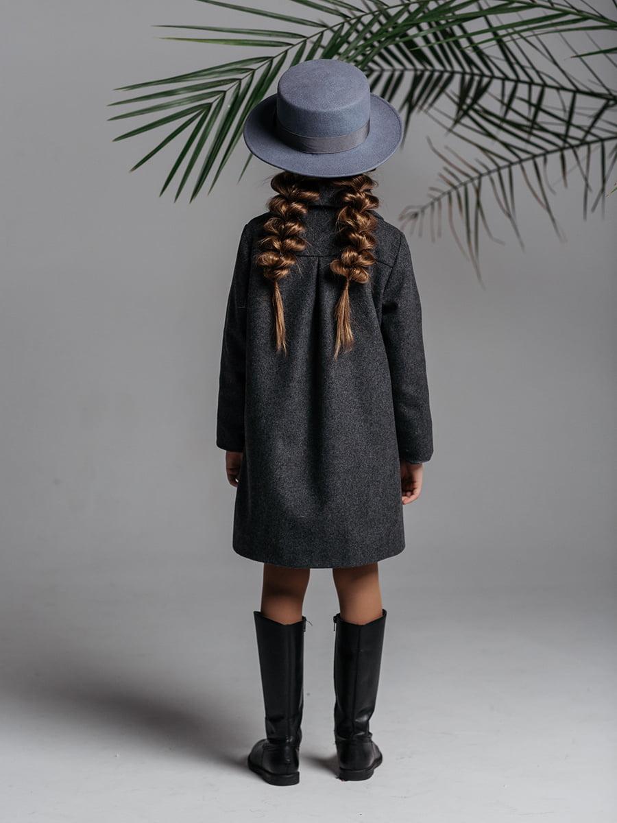 Пальто серое | 4886287 | фото 2