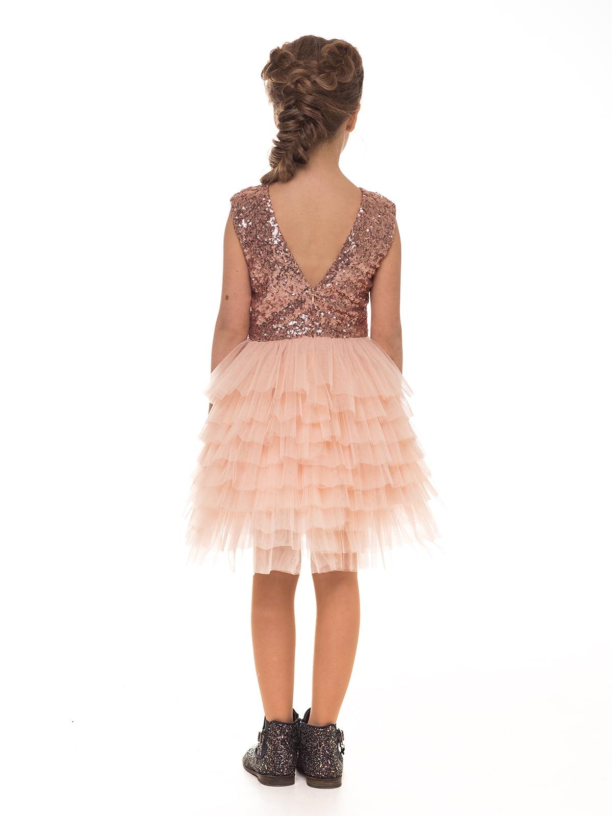 Платье цвета пудры | 4886294 | фото 2