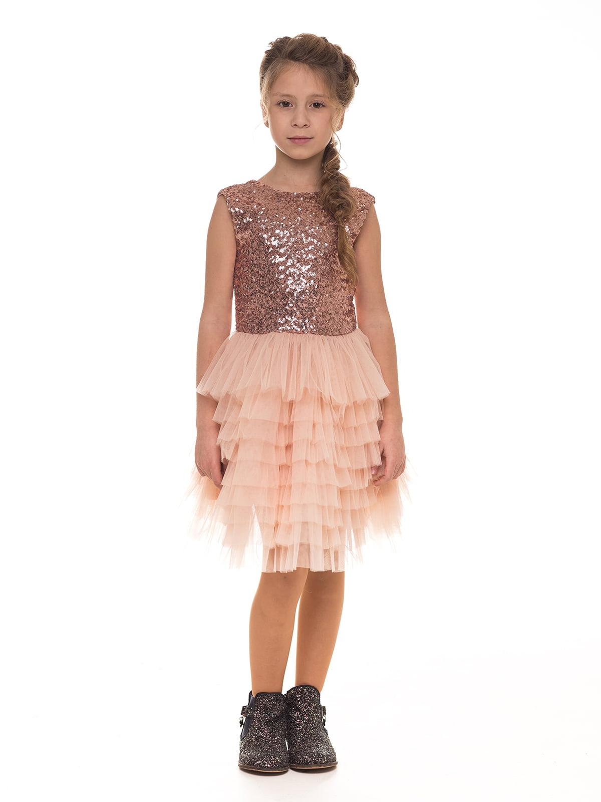 Платье цвета пудры | 4886294