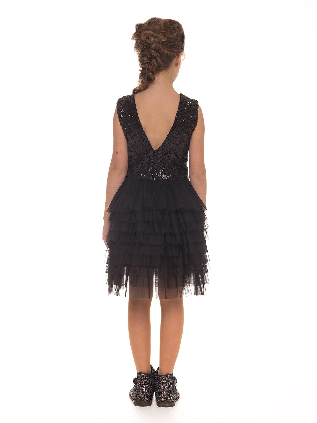 Платье черное | 4886315 | фото 2