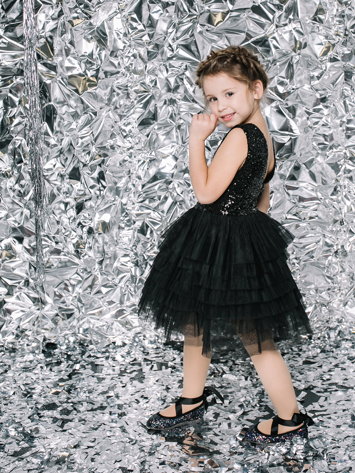 Платье черное | 4886315 | фото 3