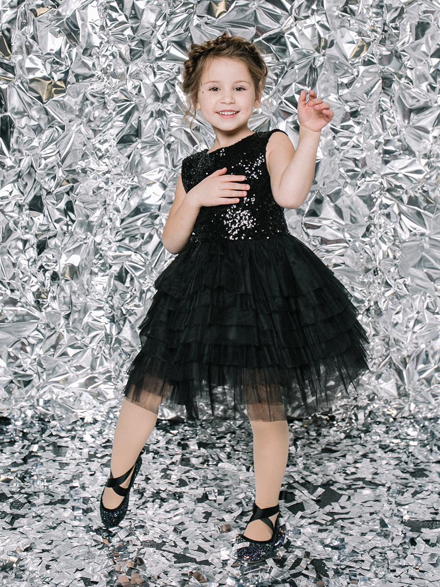 Платье черное | 4886315 | фото 4