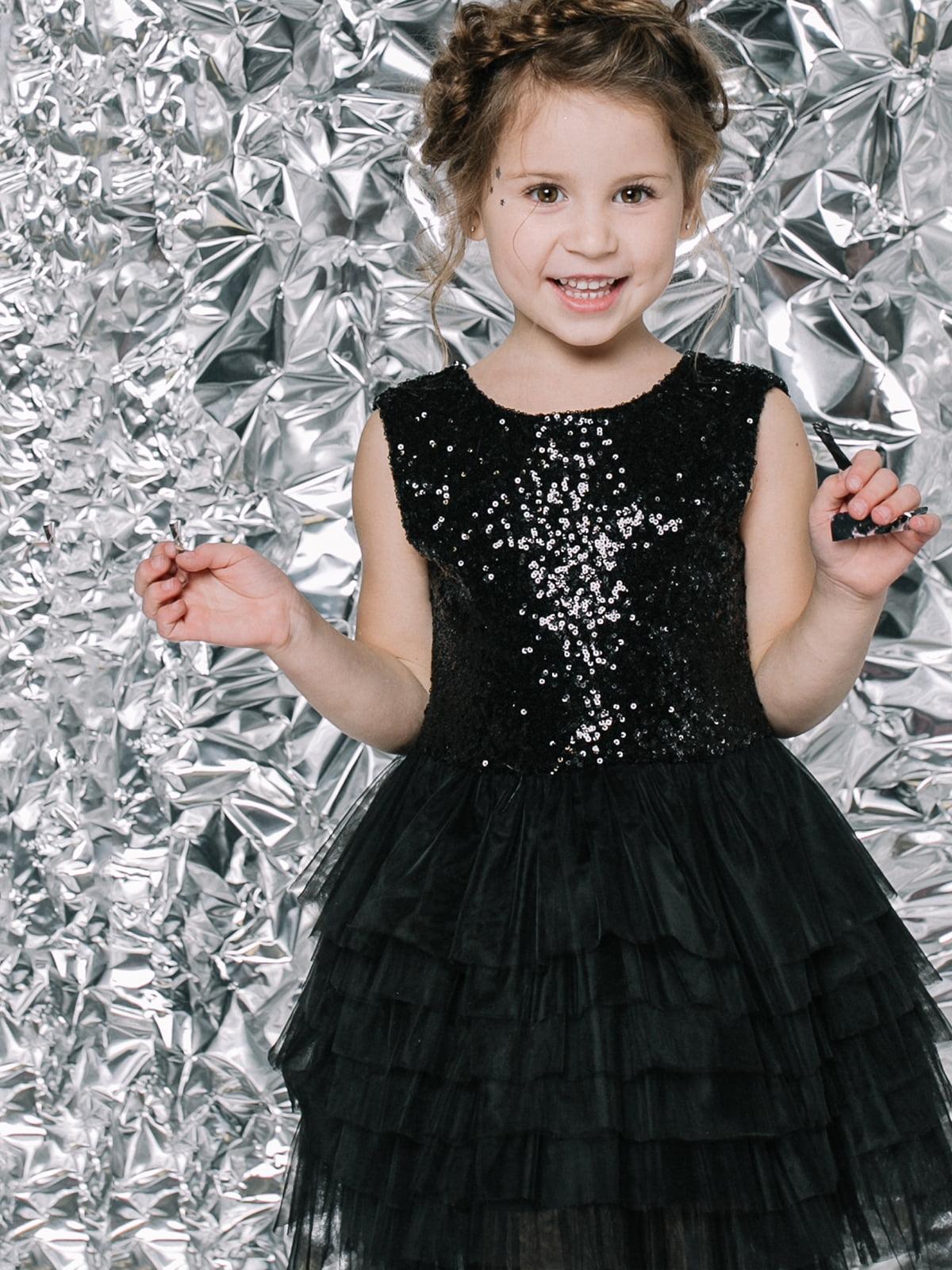 Платье черное | 4886315 | фото 5