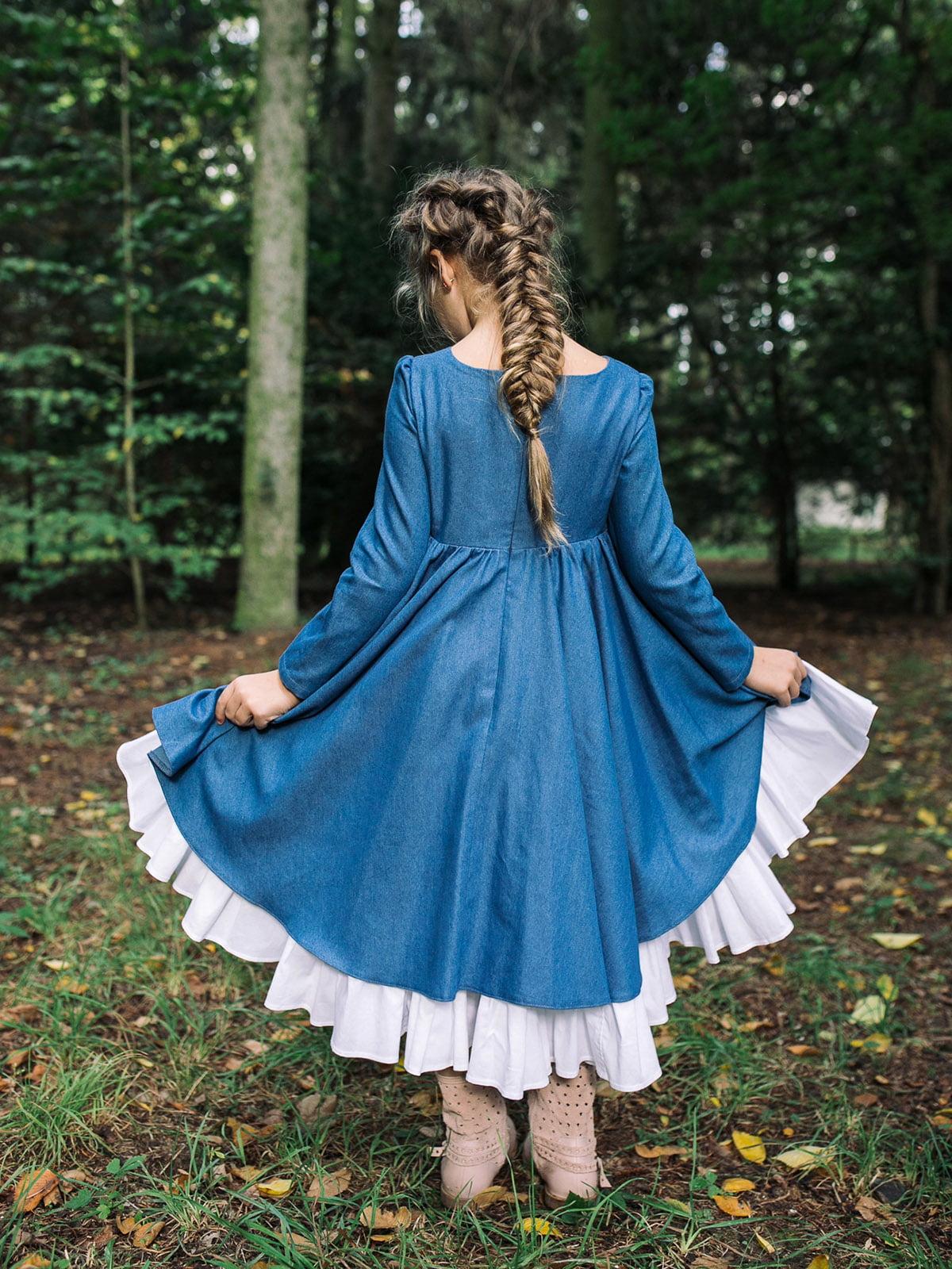 Платье джинсового цвета | 4886321 | фото 2
