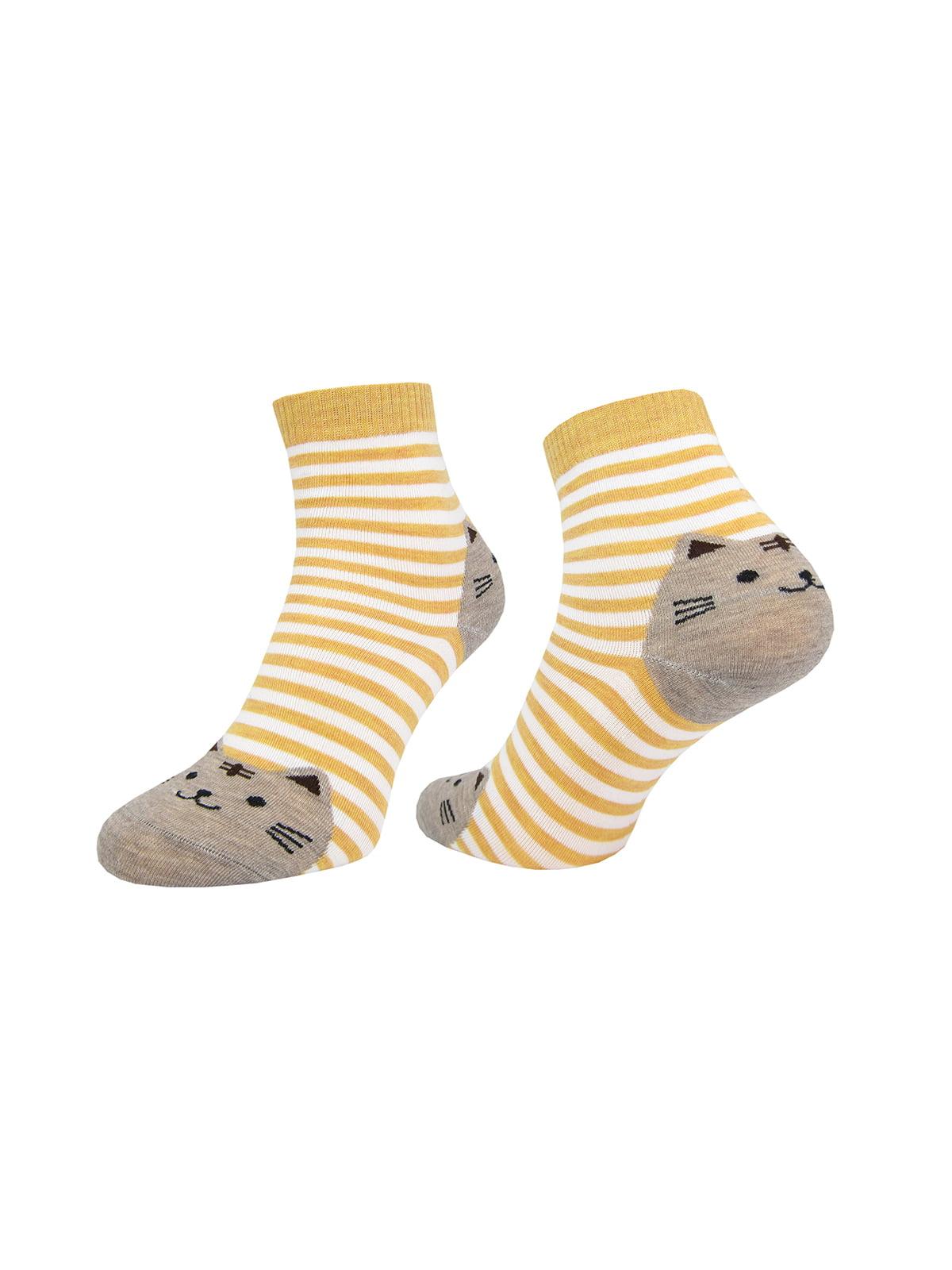 Шкарпетки в смужку | 4887655