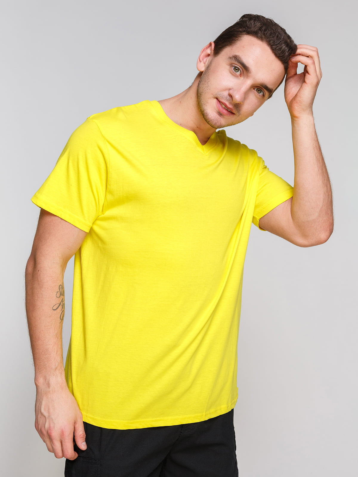 Футболка жовта | 4854998