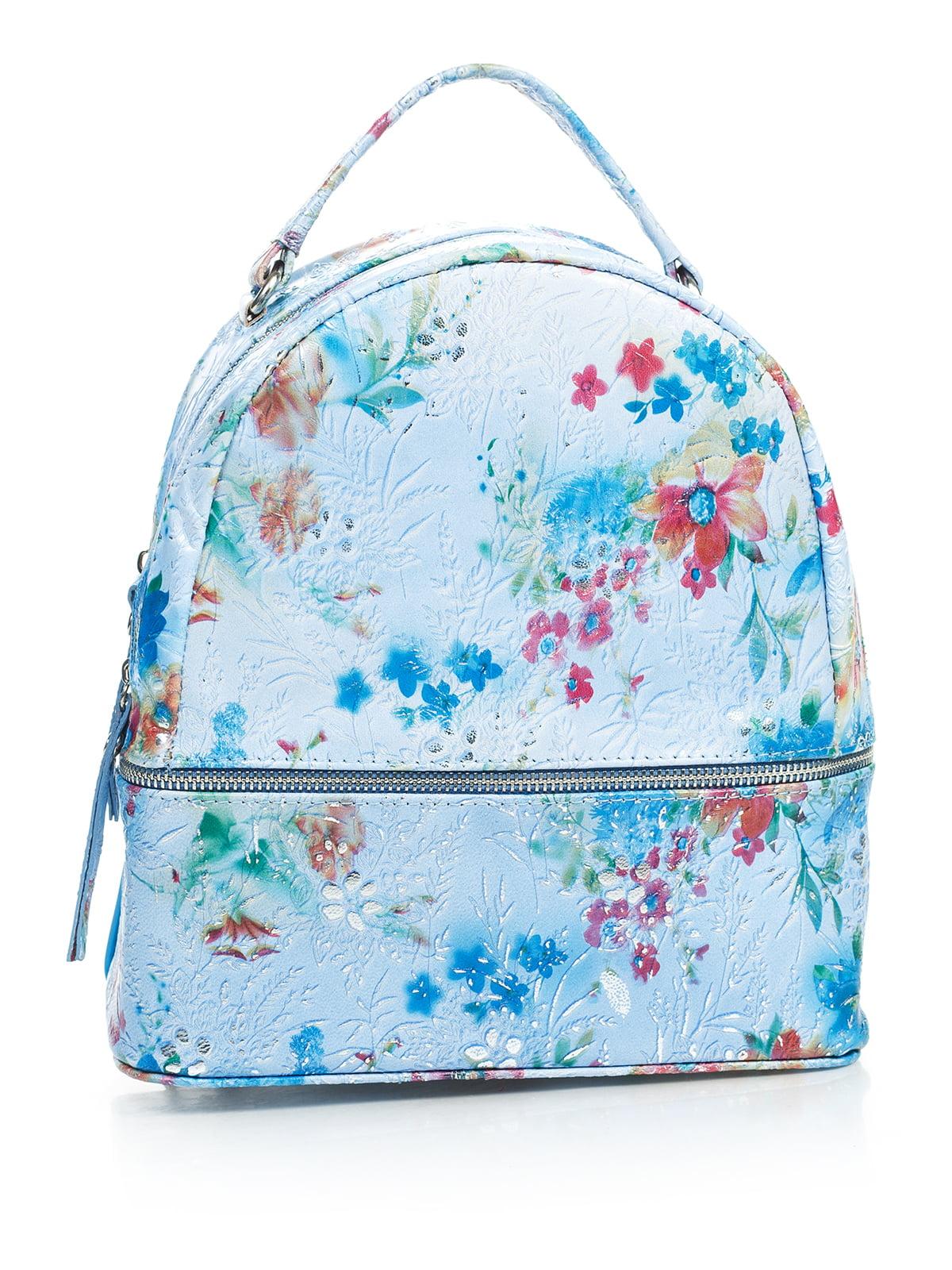 Рюкзак в цветочный принт | 4145423 | фото 2