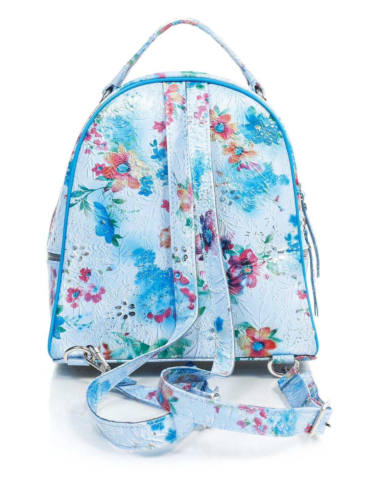 Рюкзак в цветочный принт | 4145423 | фото 3