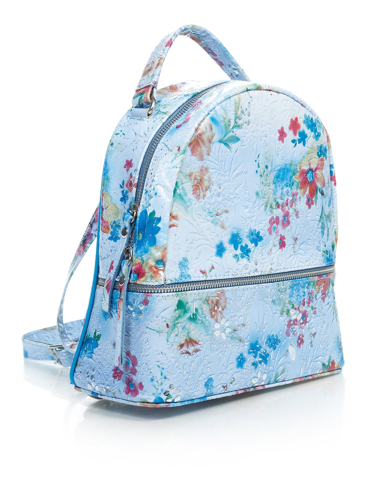Рюкзак в цветочный принт | 4145423 | фото 4