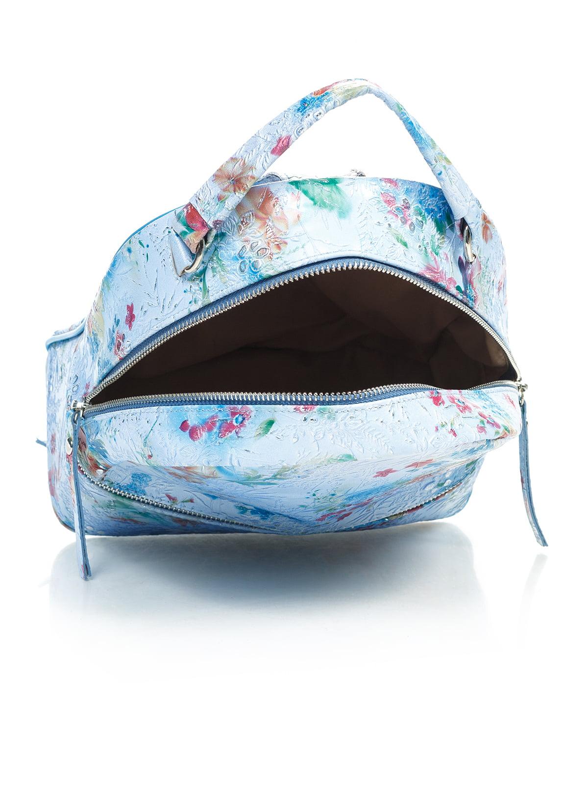 Рюкзак в цветочный принт | 4145423 | фото 5