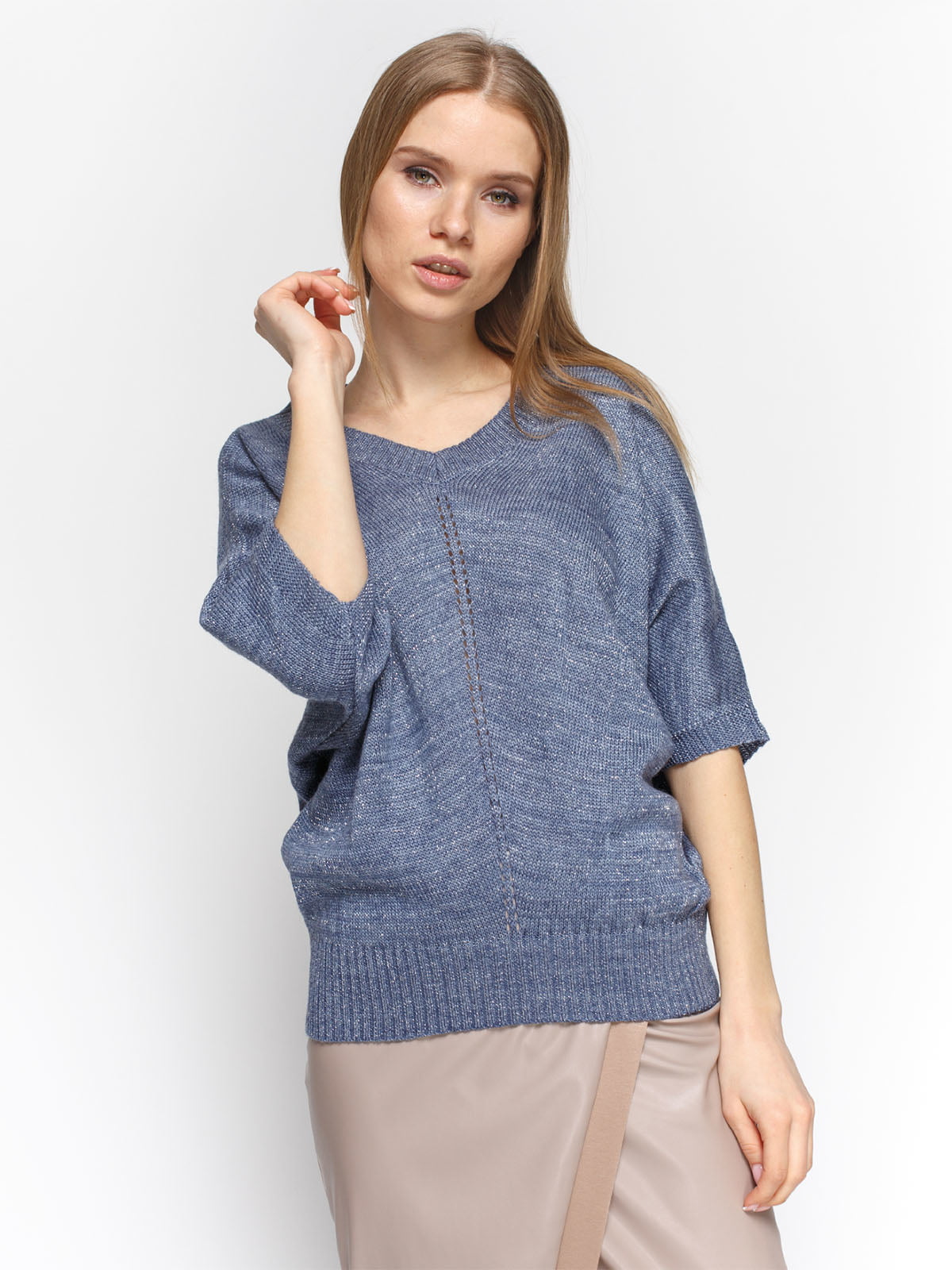 Пуловер синий | 4885871